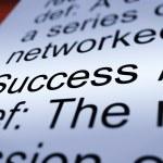 başarı tanımı closeup gösteren başarıları — Stok fotoğraf