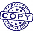 Постер, плакат: Copy Stamp Shows Duplicate Replicate Or Reproduce