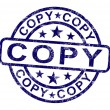 Stock Photo: Copy Stamp Shows Duplicate Replicate Or Reproduce