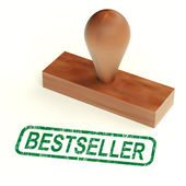 Bestseller Rubber Stamp Shows Best Selling Products — Stock Photo