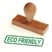 Eco Friendly Stamp As Symbol For Recycling Or Nature — Stock Photo