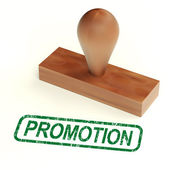 Promotion Stamp Showing Sale And Reductions — Stock Photo