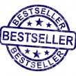 ストック写真: Bestseller Stamp Shows Top Rated Or Leader