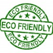 Royalty-Free Stock Photo: Eco Friendly Stamp As Symbol For  Recycling