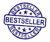бестселлер марки показывает рейтингом или лидер — Стоковое фото