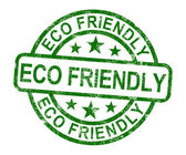 Eco Friendly Stamp As Symbol For Recycling — Photo