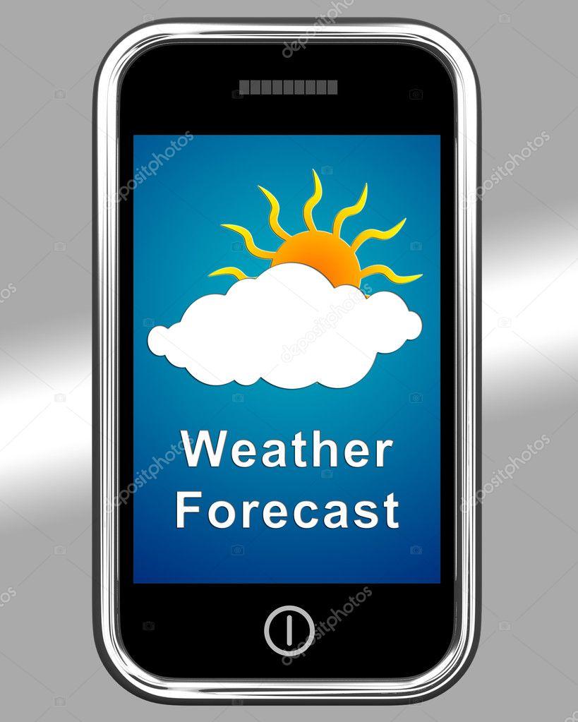 скачать прогноз погоды на телефон - фото 8