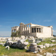 Erechtheum temple in Acropolis of Athens, Greece — Stok fotoğraf