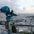Stock Photo: Coin operated sightseeing binocular at Lykavittos hill, Athe