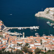 View of the traditional greek village on the Hydra island — Stock Photo