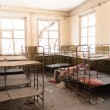Abandoned nursery at Chernobyl — Stock Photo
