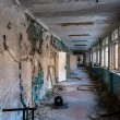 Постер, плакат: Abandoned corridor in pripyat school 2012