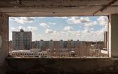 The ghost city of pripyat — Stock Photo