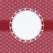 Vintage frame with bow vector illustration — 图库照片 #11119021