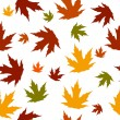 Autumn seamless pattern — 图库照片