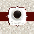 Coffee invitation background — Stock Photo