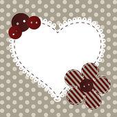 Walentynki kartkę z życzeniami — Zdjęcie stockowe