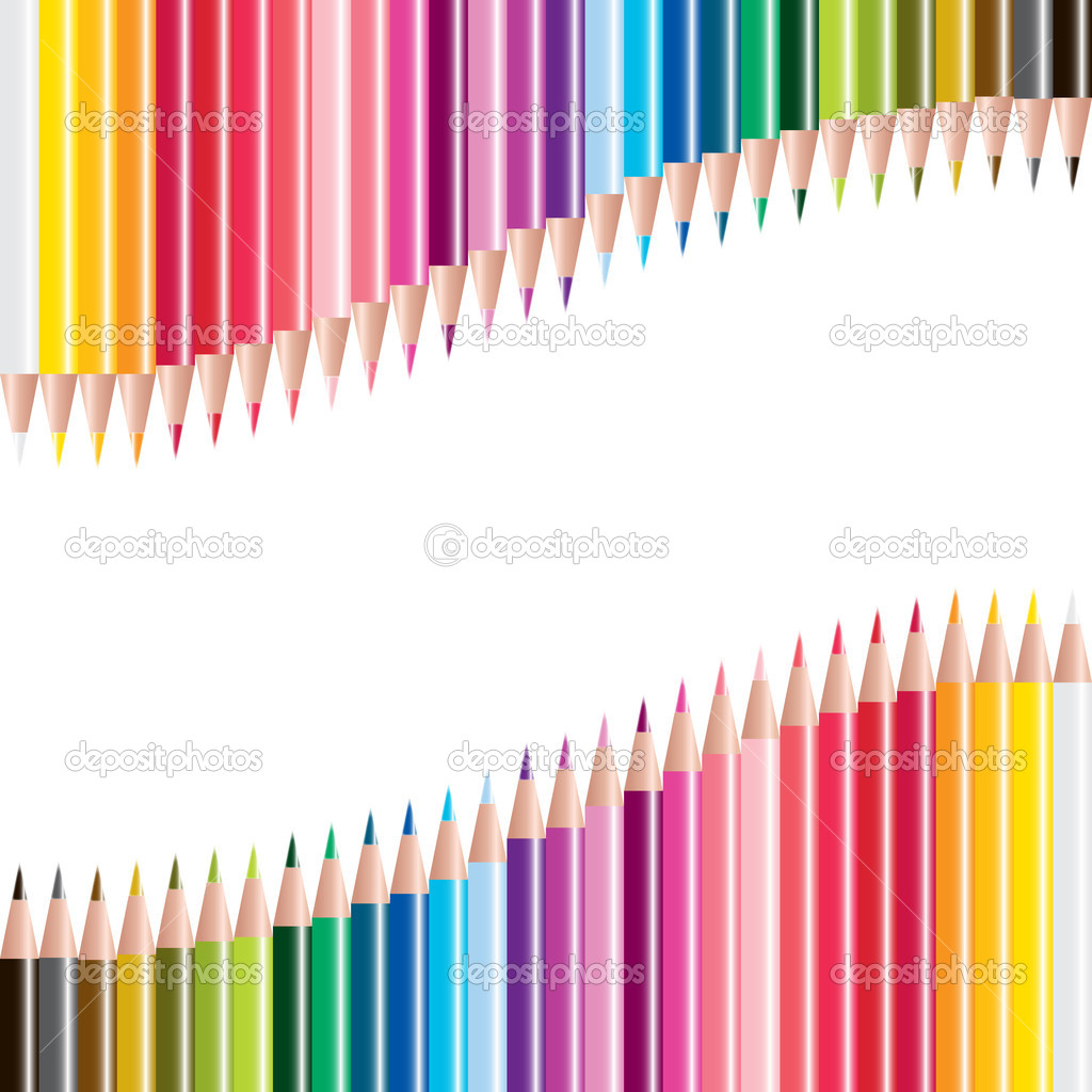 Vector set of colored pencils — Stock Photo #11593912