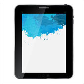 Abstract design Tablet. Vector illustration — Stock Photo