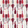 Vector background with bottles. Good for restaurant or bar menu — Stock Photo #11967861