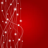 Abstract christmas red background vector illustration — Stock Photo