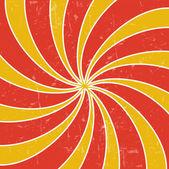 Retro vintage grunge hypnotic background.vector illustration — Stock Photo