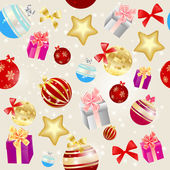 Abstract beauty Christmas and New Year seamless pattern backgrou — Stock Photo