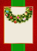 Abstract beauty Christmas and New Year invitation background. Ve — Стоковое фото