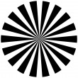 Black and white hypnotic background. — Stock Photo #12416605