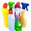 Stock Photo: Sanitary bottle set