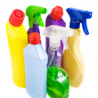 Sanitary bottle set — Stock Photo