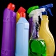 Subjects for sanitary cleaning - Stock Photo