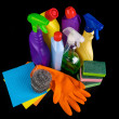 Stock Photo: Subjects for sanitary cleaning a house