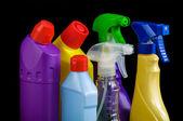 Sanitary bottle set — Stock Photo