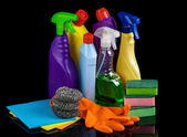 Cleaning set for home — Stock Photo