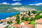 Beautiful view of montenegro city at the seashore — Stock Photo