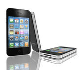 IPhone 4s with the faster dual-core A5 chip. — Stockfoto