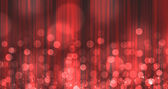 Red Light Burst over curtain — Stock Photo
