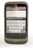 HTC smart phone — Stock Photo