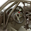Race car interior — Stock Photo