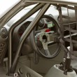 Stock Photo: Race car interior