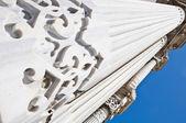 Colonne del palazzo cragan — Foto Stock