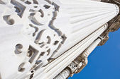 Cragan palác sloupce — Stock fotografie