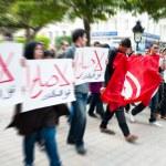 Protest in Tunisia — Stock Photo #10966556