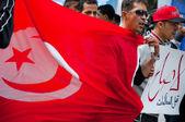 Protest in Tunisia — Stock Photo