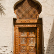 Traditional Arabian Gate - Stock Photo