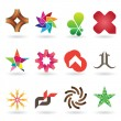 Contemporary Logo and Icon Collection — 图库矢量图片