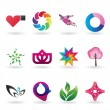 Royalty-Free Stock Vector Image: Contemporary Logo and Icon Collection