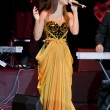 Nancy Ajram Concert in Istanbul - Stock Photo
