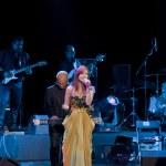 Nancy Ajram Concert in Istanbul — Stock Photo
